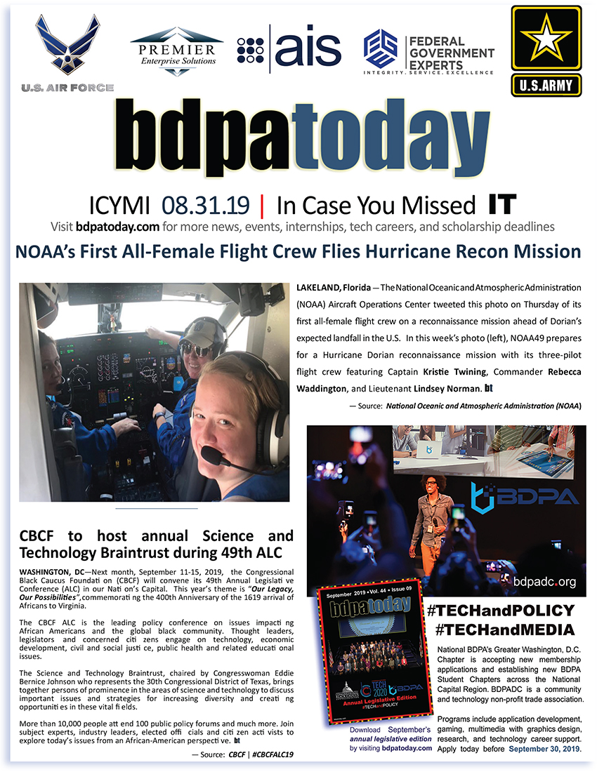 ICYMI | bdpatoday 08.31.19
