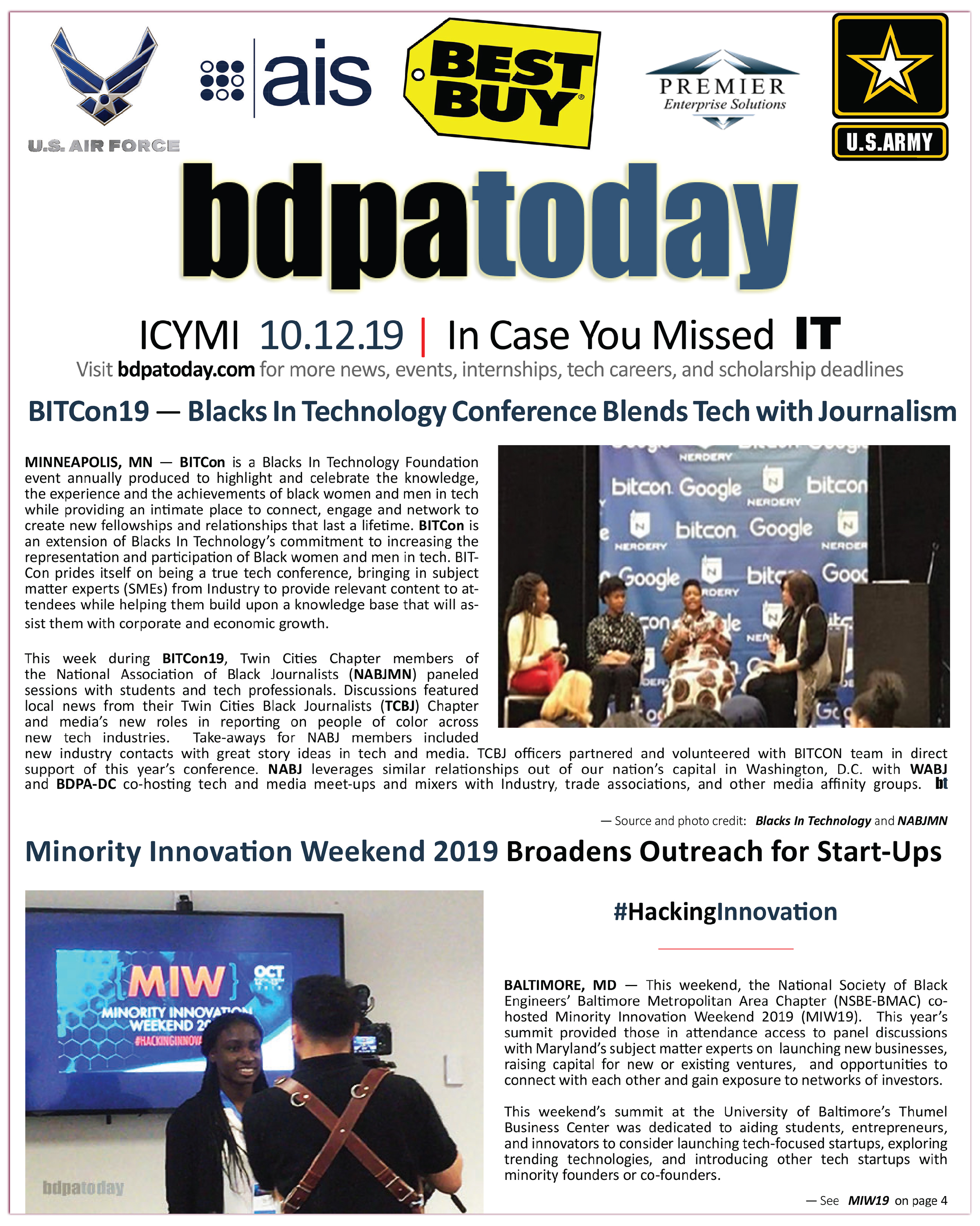 bdpatoday – Community success stories in tech and cyber