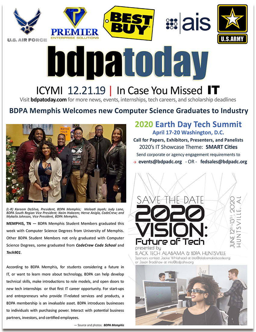 ICYMI | bdpatoday 12.21.19