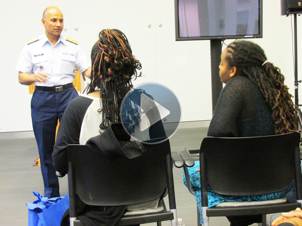 BDPA visits new Coast Guard Headquarters