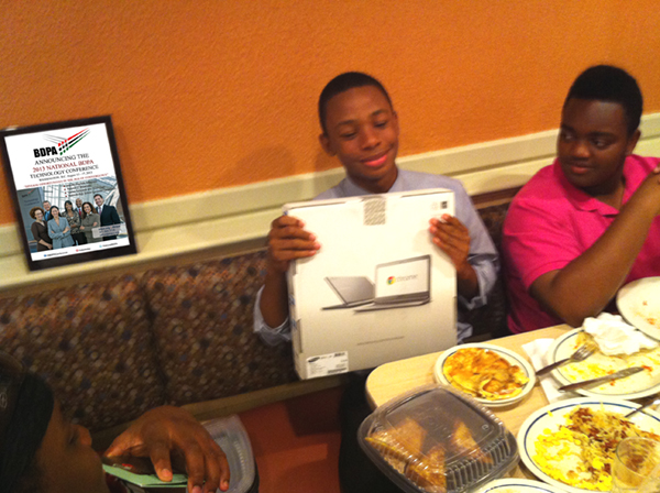 Grand Door Prize Winner! - Google Chromebook