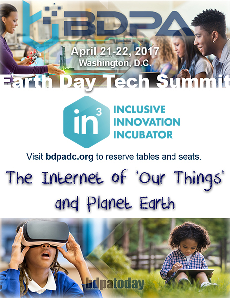 Select here for details: BDPA Earth Day Tech Summit