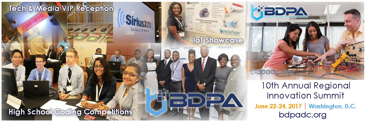 Select here for details: BDPA Regional Innovation Summit